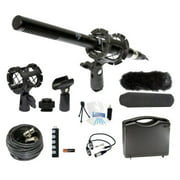 Microphone Broadcasting Accessories Kit Canon EOS Rebel T3i