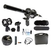 Microphone Broadcasting Accessories Kit for Nikon D7000 D7100 D5200 1 V2 D600