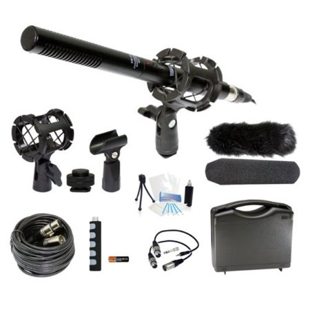 Microphone Broadcasting Accessories Kit for Panasonic AG-AF100A Camcorder