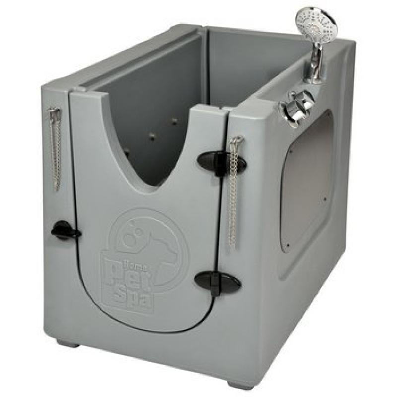 Pet Wash Enclosure with Wheels