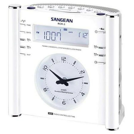 Sangean Digital Atomic AM/FM Clock Radio