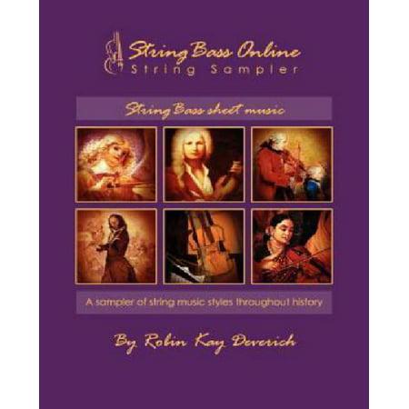 String Bass Online String Sampler Bass Sheet Music