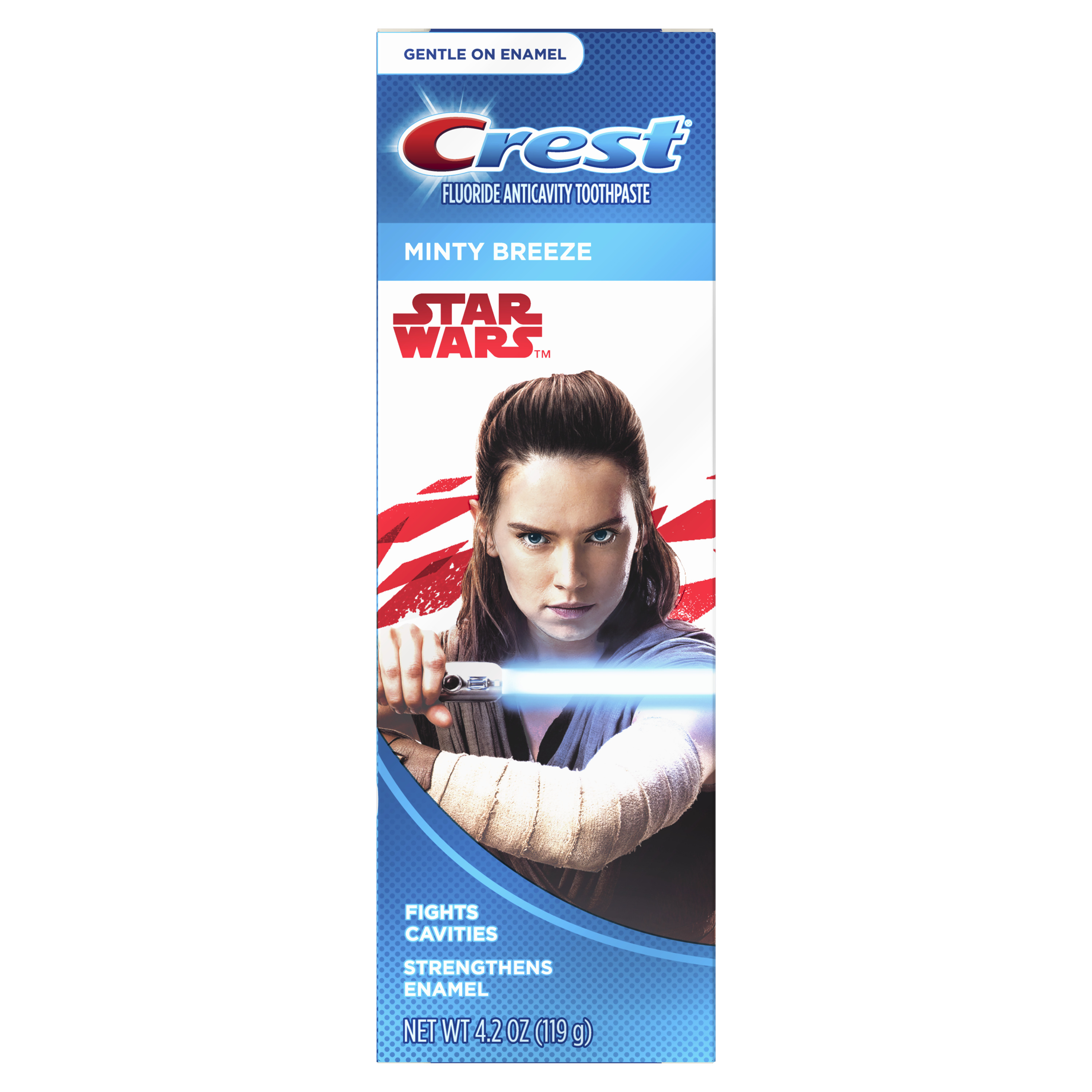Crest Kid's Toothpaste Featuring Disney STAR WARS (children and toddlers 2+), Minty Breeze, 4.2 ounces