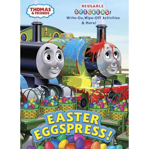 Easter Eggspress!: Write-on, Wipe-off Activities & More!