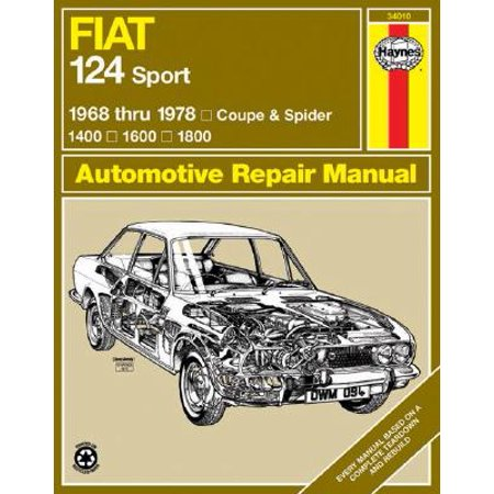 1968 Fiat 850 - Fiat 124 Sport 1968 Thru 1978