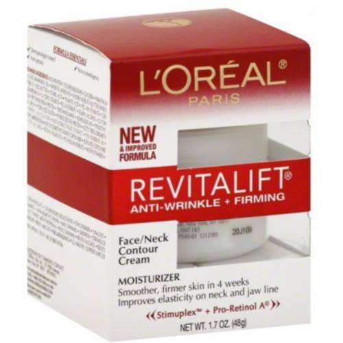 L'Oreal Revitalift Face & Neck Anti-Wrinkle & Firming Moisturizer Day Cream 1.70 oz (Pack of 2)
