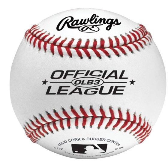 1aa30783 Rawlings Official League Recreational Use OLB3 Baseballs, 12 Pack -  Walmart.com