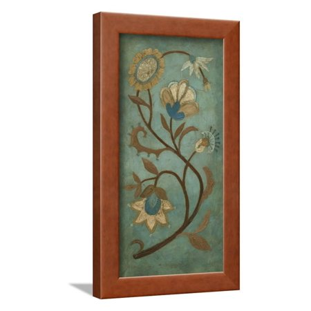 Embroidery Panel II Framed Print Wall Art By Megan Meagher