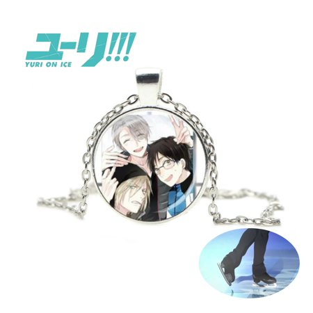 Yuri On Ice Necklace Pendant - Glass Bubble- Anime Manga Game TV Series Cosplay by