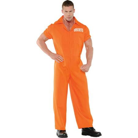 Convicted Men's Adult Halloween Costume - Convicts Halloween Costumes