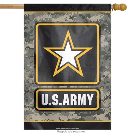 - United States Army America House Flag Armed Forces Eagle Military Camo 28
