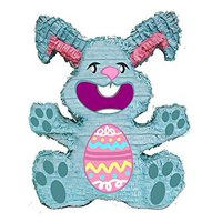 Easter Bunny Pinata, Blue, 16in x 20in