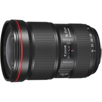 """Canon - 16 mm to 35 mm - f/2.8 - Ultra Wide Angle Zoom Lens for Canon EF - Designed for Camera - 81.3 mm Attachment - 0.22x Magnification - 2.2x Optical Zoom - 5""""Length - 3.5""""Diameter"""