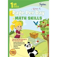 First Grade Page Per Day: 1st Grade Page Per Day: Math Skills (Paperback)