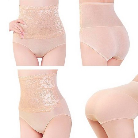 58e59cc4e Women Flower Pattern Breathable Body Shaper Control Slim Slimming Tummy  Corset High Waist Shapewear Underwear Pants ...