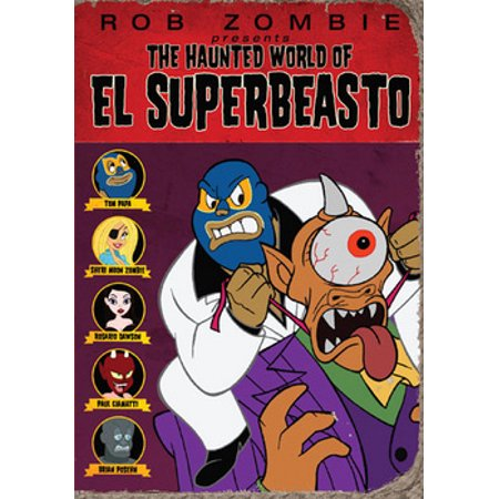The Haunted World of El Superbeasto (DVD)