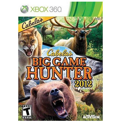 Cabelas Big Game Hunter 2012 (Game Only) (Xbox 360) - Pre-Owned thumbnail