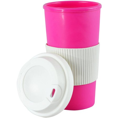 Southern Homewares Thermal Travel Coffee Mug, Pink