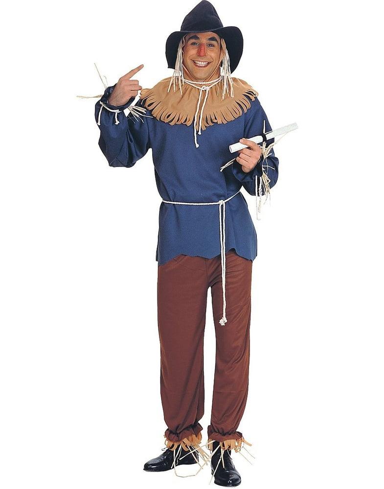 Scarecrow Adult Halloween Costume, Size Men\u0027s , One Size