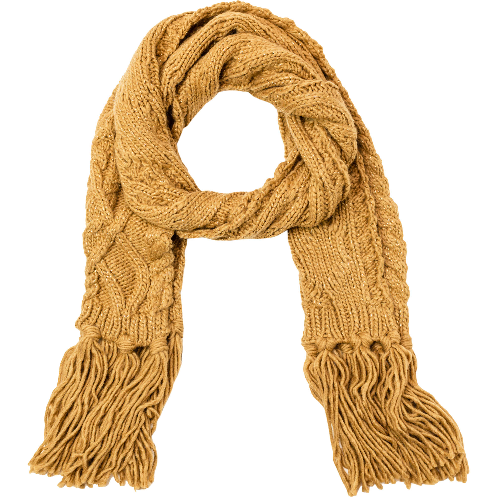 Faded Glory Women's Cable Knit Scarf