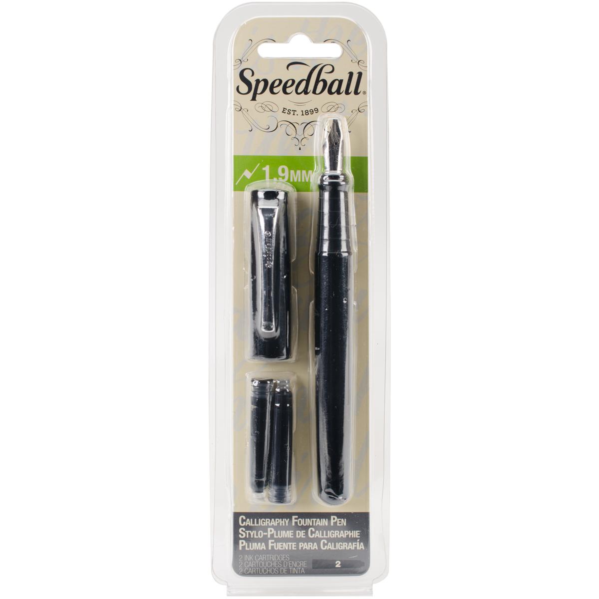 Speedball Calligraphy Fountain Pen 1.9mm Nib
