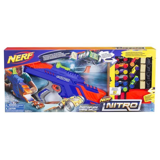 Hasbro HSBC0787 Nerf Nitro Motorfury Rapid Rally Toys by Hasbro