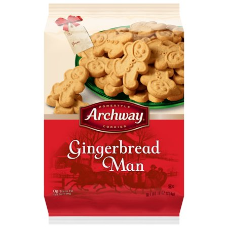 Archway Gingerbread Man Cookies 10 Oz