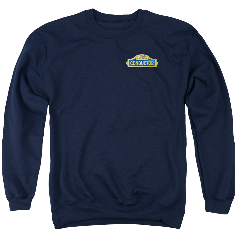 Polar Express Conductor Mens Crewneck Sweatshirt