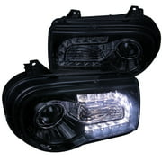 Spec-D Tuning 2002-2010 Chrysler 300C Smd Led Projector Headlights 2005 2006 2007 2008 2009 2010 (Left + Right)