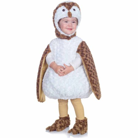 White Barn Owl Toddler Halloween Costume