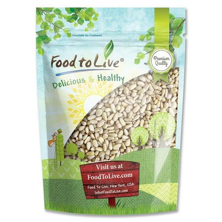 Food To Live ® Pine Nuts / Pignolias (1 Pound) (Pine Nuts Parrots)