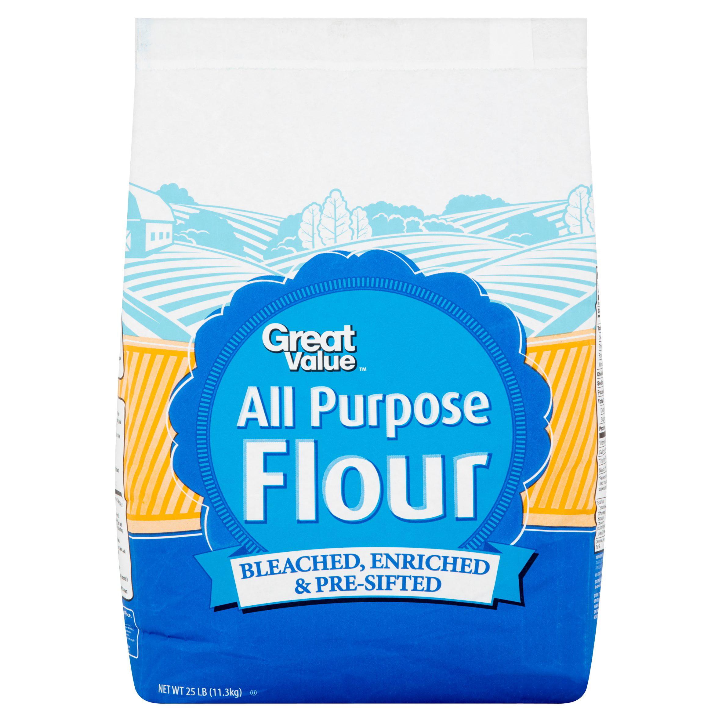 Great Value All Purpose Flour 25 lb