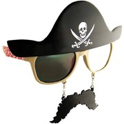 Pirate Dark Sunstache Adult Halloween Accessory by Generic