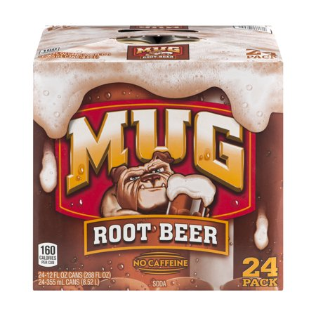 Mug Root Beer 12 Fl Oz 24 Pack