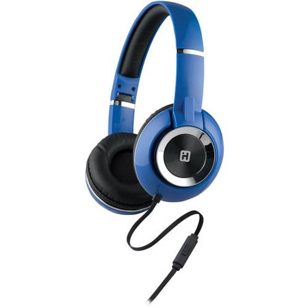 iHome On-Ear Foldable Headphones with Microphone