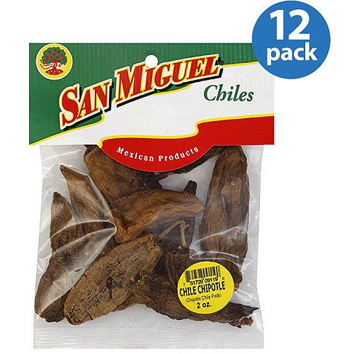 San Miguel Chipotle Chiles, 2 oz, (Pack of 12)
