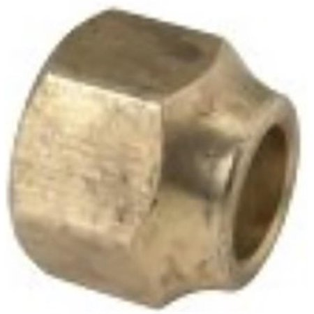 Brasscraft 141S-8 0.5 in. Rough Brass Short Forged - Polished Brass 0.5 Rough
