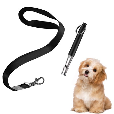 Peroptimist Dog Training Whistle, Professional Silent Dog Whistle to Stop Barking, Adjustable Pitch Ultrasonic Recall Training Tool Silent Dog Bark Control Whistle with Free