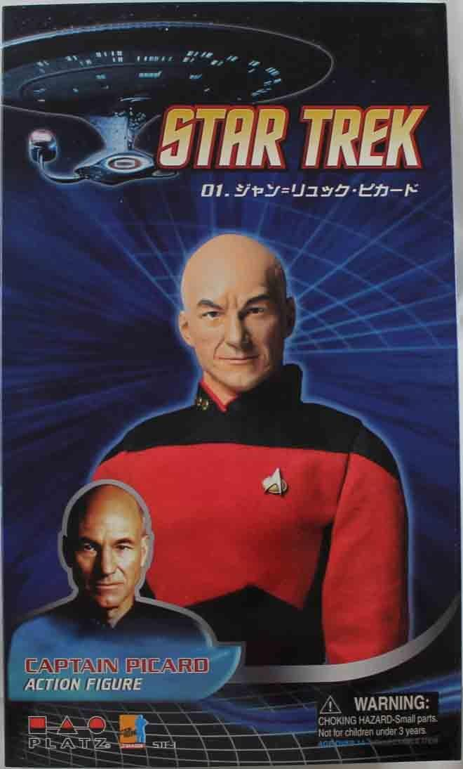 Star Trek Next Generation Jean-Luc Picard New by Dragon Models