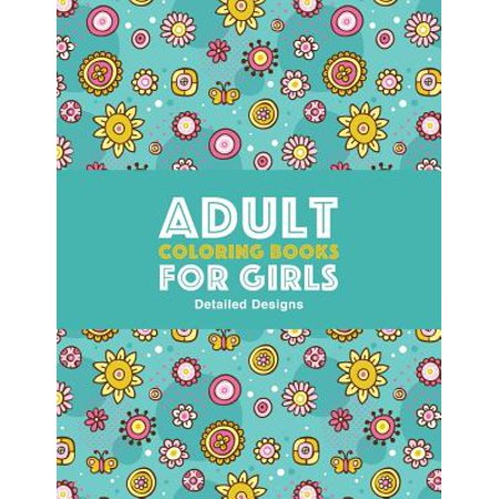 Adult Coloring Books for Girls (Halloween Coloring Pages For Girls)