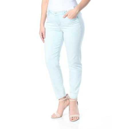CELEBRITY PINK Womens Light Blue Super Slimmer Slim Your Thigh An Jeans Juniors  Size: