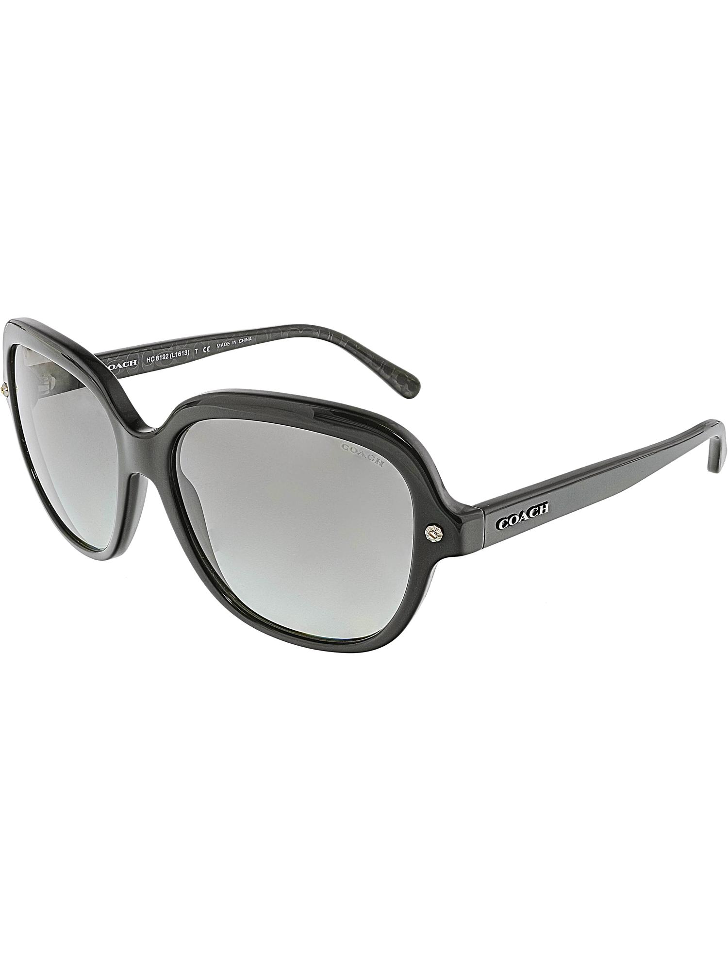 261c8f7398 shop coach womens gradient hc8169 512013 57 brown square sunglasses 0 0f19a  09e65  closeout coach womens hc8192 542011 56 black square sunglasses 3ab62  ...
