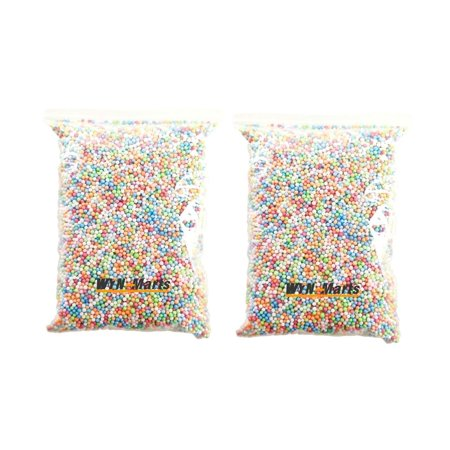 2 Bags Styrofoam Foam Balls for Slime Polystyrene DIY Gift 10K Styrofoam Beads - Styrofoam Beads