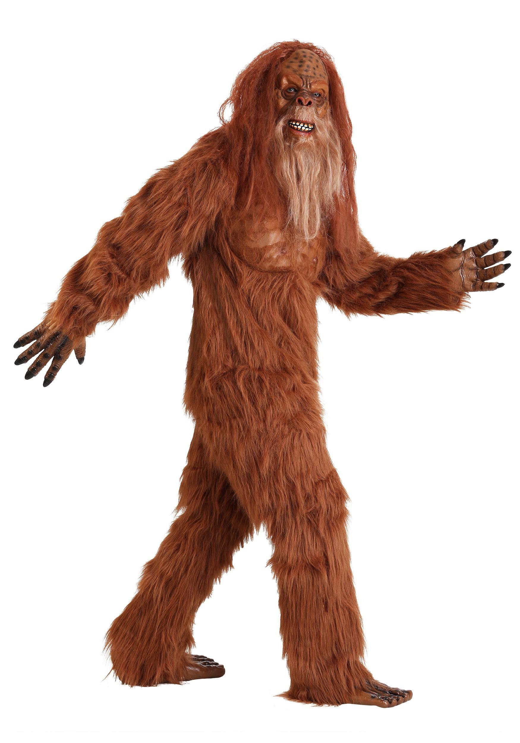 Jack Link's Sasquatch Costume