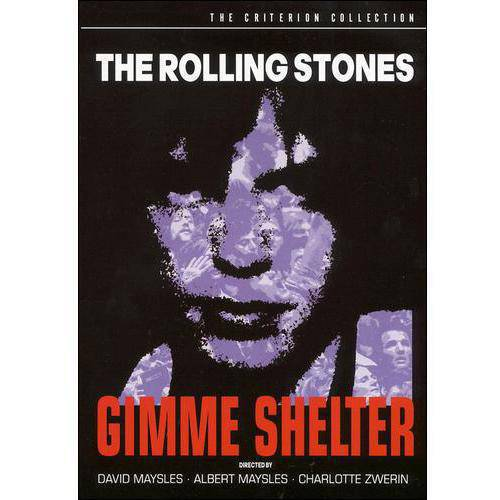 The Rolling Stones: Gimme Shelter (The Criterion Collection) by IMAGE ENTERTAINMENT INC