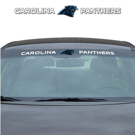 NFL Carolina Panthers Windshield Decal