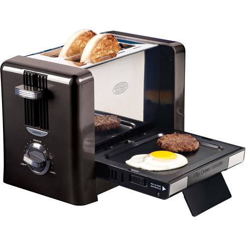 Nostalgia Electrics 2-Slice Flip-Down Breakfast Toaster