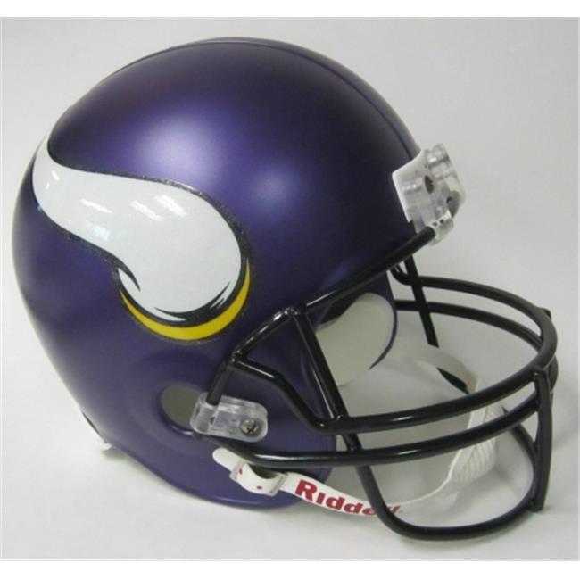 Creative Sports Enterprises RD-VIKINGS-R-2013 Minnesota Vikings Riddell Full Size Deluxe Replica Football Helmet