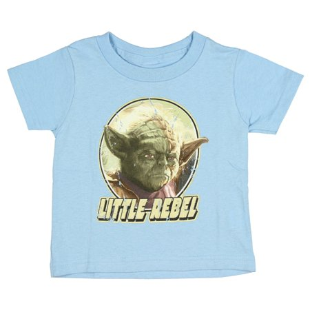 Star Wars Yoda Legendary Jedi Master Little Rebel Baby Boys T-Shirt (12 Months)](Star Wars Babys)