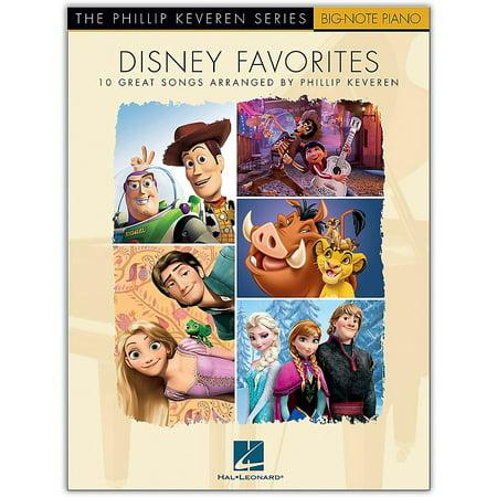 Big Note Piano Songbook (Hal Leonard Disney Favorites - The Phillip Keveren Series Big Note Piano)